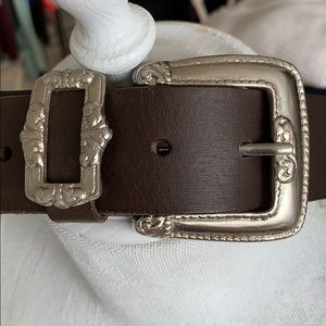 Donna Katz Genuine Leather Brown Belt